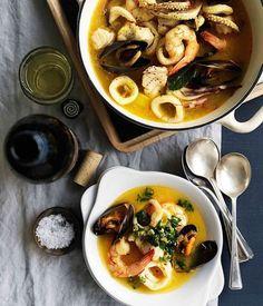 Food Blogger - L'arte culinaria di Kika Cook: Zuppa Catalana di pesci