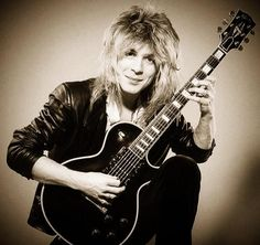 Super talented Randy Rhoads, killed in a tragic plane accident on 3/19/82, at the age of 25, while on tour with Ozzy.