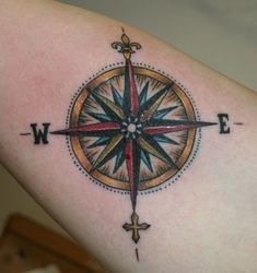 Pics Photos - Compass Rose Tattoo Picture At Checkoutmyinkcom