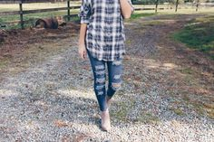 The perfect day for the perfect plaid | Women's Fashion #hunnistyle