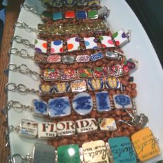 Broken China Jewelry....turn your plates into bracelets!