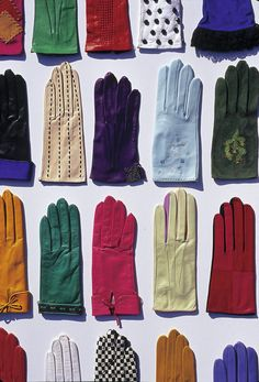 Glove Museum, Millau, Midi-Pyrenees, France - the centre of fine glove-making for centuries
