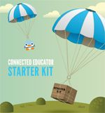 """Created in conjunction with Connected Educators Month in October the CEM Starter Kit includes 31 online activities for educators. Choose a few to start or do one a day -- or, as the authors say, """"choose your own adventure""""! Teacher Tools, Teacher Resources, Teacher Librarian, Thinking Maps, 21st Century Learning, Digital Literacy, Educational Technology, Instructional Technology, Professional Development"""