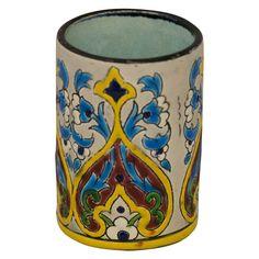Small Longwy Majolica Vase