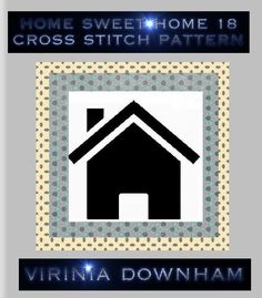 Home Sweet Home 18 is a stunning Cross Stitch Pattern. It has a total of 22500 stitches and uses 49 DMC cottons. (You get a comprehensive list of cottons needed with this cross stitch pattern.). For best results use 14-count Aida material and a blunt tapestry needle size 24. Finished project sizes are    14 Count, 10 3/4 inches wide x 10 3/4 inches high    16 Count, 9 1/2 inches wide x 9 1/2 inches high    18 Count, 8 3/8 inches wide x 8 3/8 inches high    The center marks appear on the…