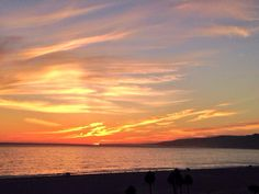#SantaMonica Bay #Sunset 10/14