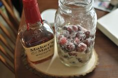 Cherry Bounce: Whole cherries soaked in bourbon? Yes, please. Takes four months to steep, so could be a nice Christmas present idea...