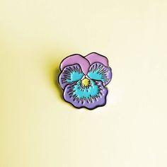 #Repost @housebatstudio NEW Brand new pastel pansy pin! Up in the shop now housebat.studio (Posted by https://bbllowwnn.com/) Tap the photo for purchase info. Follow @bbllowwnn on Instagram for more great pins!