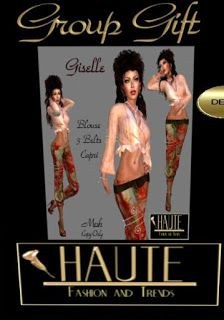 Second life dollarbies freebies fun and more: complete outfit group gift mesh