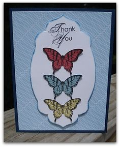 Stamp and Sew For Fun: Papillon Potpourri Cards