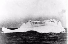 """11:40 Pm """"Iceberg right ahead.""""  Frederick Fleet was the lookout who raised the alarm first verbally, then immediately sounded the ships bell three times and telephoned the bridge to warn them of what they now already could see themselves. Over 48,000 tonnes of steel ploughed towards a rogue iceberg which was more than likely at least ten times the mass of Titanic."""