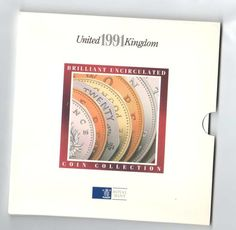 1991 United Kingdom brilliant uncirculated coin collection the royal mint