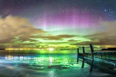 Breathtaking Photos Of The Northern Lights, Taken On A Scottish Island