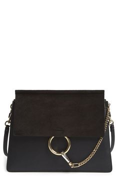 Chloé 'Medium Faye' Shoulder Bag available at #Nordstrom