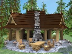 of wood Wooden Arbor, Houzz, Pergola, Outdoor Structures, Patio, Outdoor Decor, Arbors, Design, Yard