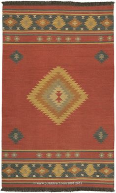 BuildDirect: Area Rugs Majestic Collection   Maroon this would be a wonderful addition to tile floors, accent country living