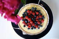 Yummy Cheesecake with fresh berries