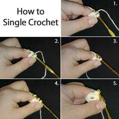 Picture of Crochet Stitches: Single, Increase, Decrease