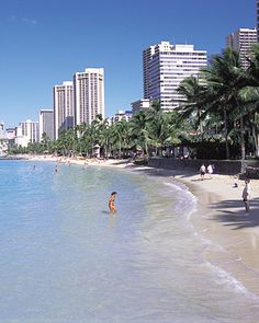 Waikiki Beach, Oahu, Hawaii  ~ one of my best lifetime memories.  Body surfing in the shallows with Taylor and Josh on Waikiki about 10PM.