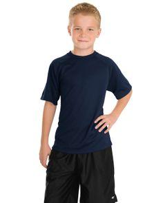 Youth Raglan T-shirt - Buy wholesale sport-tek youth dry zone raglan t-shirt at Gotapparel.com