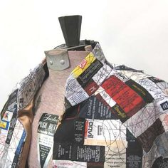 33 Upcycled Clothing Ideas - From Recycled Paper Blazers to Upcycled Clothing Cushions (TOPLIST)
