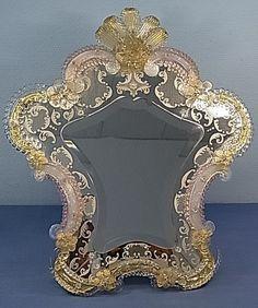 Espejo cristal Murano ITALIA ...