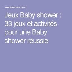 Jeux Baby shower : 33 jeux et activités pour une Baby shower réussie