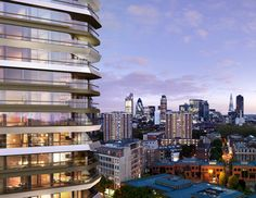 The Style Examiner: Canaletto Tower in London by UNStudio Architects