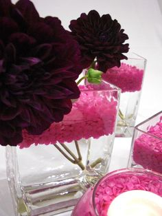 Hot Pink Deco Dots ™ Floral Arrangement #hot_pink #floral  #arrangement