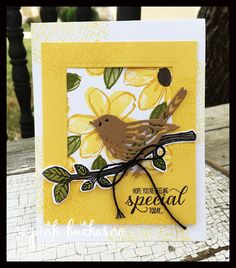 Best Birds and  Garden in Bloom by Stampin' Up! Designed by Erica Cerwin @ Pink Buckaroo Designs