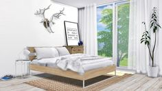 Modern Bedroom #11 for The Sims 4