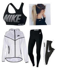 """""""Nike"""" by mae1143 on Polyvore featuring NIKE and Capelli New York"""