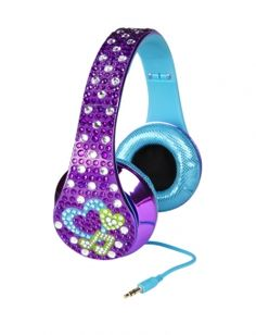 Justice toys for girls | Purple Bling Headphones | Girls Toys Clearance | Shop Justice