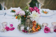 Mediterranean-Moroccan Palm Springs wedding | Photo by Fondly Forever | Read more -  http://www.100layercake.com/blog/?p=81033
