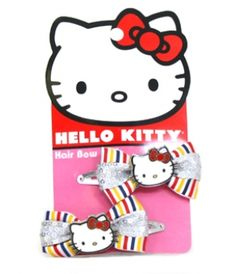 - HELLO KITTY STRIPED HAIR BOWS LOUNGEFLY OFFICIAL WEBSITE $13.00