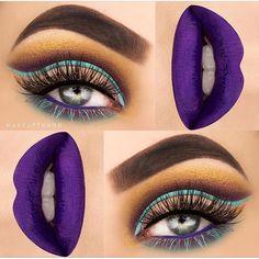 Bold Eyes & Lips