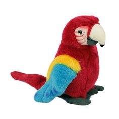 Title: Macaw Stuffed Bird Plush Toy National Geographic [colour: red] Size:  Price: AUS$ 38.95 Brand : National Geographic Plush  Lots more items like this available at: www.stuffedwithplushtoys.com 100 Day Returns |Fast Trackable Shipping|Amazing Service