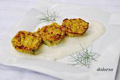 Blog de cuina de la dolorss: Pastelitos de calabacín y queso cheddar