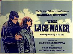 """Movie Poster of the Week: """"The Lacemaker"""" on Notebook 