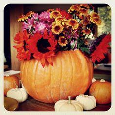 pumpkin vase - another Martha inspired craft  #PotentialistCanada