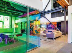 Dichroic colour changing self-adhesive rainbow colourful, coloured window film | eBay