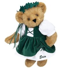 St Patrick's Day Bears 2012 | Green Teddy Bears