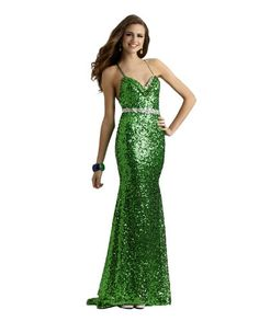 Long Sequin Fitted Spaghetti Strap Party Formal and Prom Dress 2358 >>> Read more reviews of the product by visiting the link on the image.