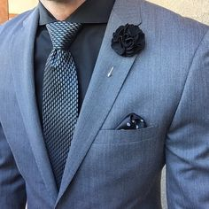 Sunday Style... ($10) Black Moss lapel pin  Styled by @meeeotch - Choose any10 lapel pins for $70 Use Code: 10FOR70 Choose any 5 lapel pins for $35 Use Code: 5FOR35 Neckties - 3 for $45 Use Code: 3FOR45 Pocket Squares - 3 for $25 Use Code: 3FOR25 Harrison Blake Apparel www.harrisonblakeapparel.com Join Our Monthly Club Get 5 accessories for $25/month- - Free Shipping - Cancel Anytime - Subscribe Today www.harrisonblakeapparel.com