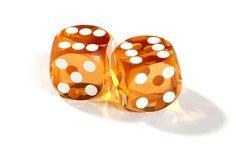 Saffron Backgammon Precision Dice - Precision Dice - Zontik Games