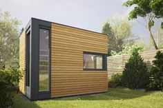 The Micropod and Micropod Max are the smallest of our garden studios, measuring 2.5 x 2.0m and 3.2 x 2.5m respectively. Specifically designed as the ideal solution for homeworkers, their compact design means they will fit unobtrusively into most gardens. The walls and ceilings are finished with white beech panels and the engineered wooden floor comes complete with low energy Scandinavian underfloor heating. Similar to our other pods, contemporary large frameless rooflights with self cleaning…