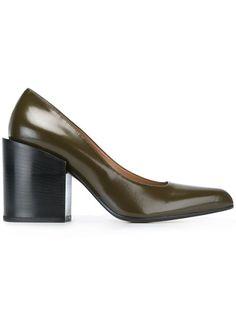 Marni block heel pumps
