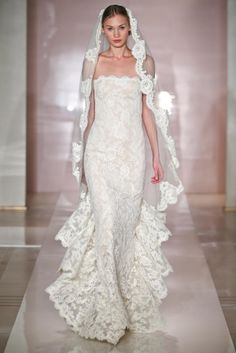 Reem Acra 2014 Fall Collection - Designer Wedding dresses 2014