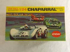 Jim Hall -Chaparral Race Car Vintage Cox Model Kit