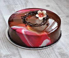 "Торт ""шоколад-малина-мята"" для | WEBSTA - Instagram Analytics"